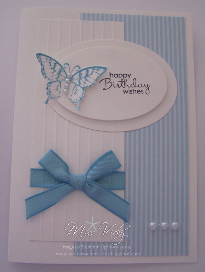 Handmade birthday wishing card